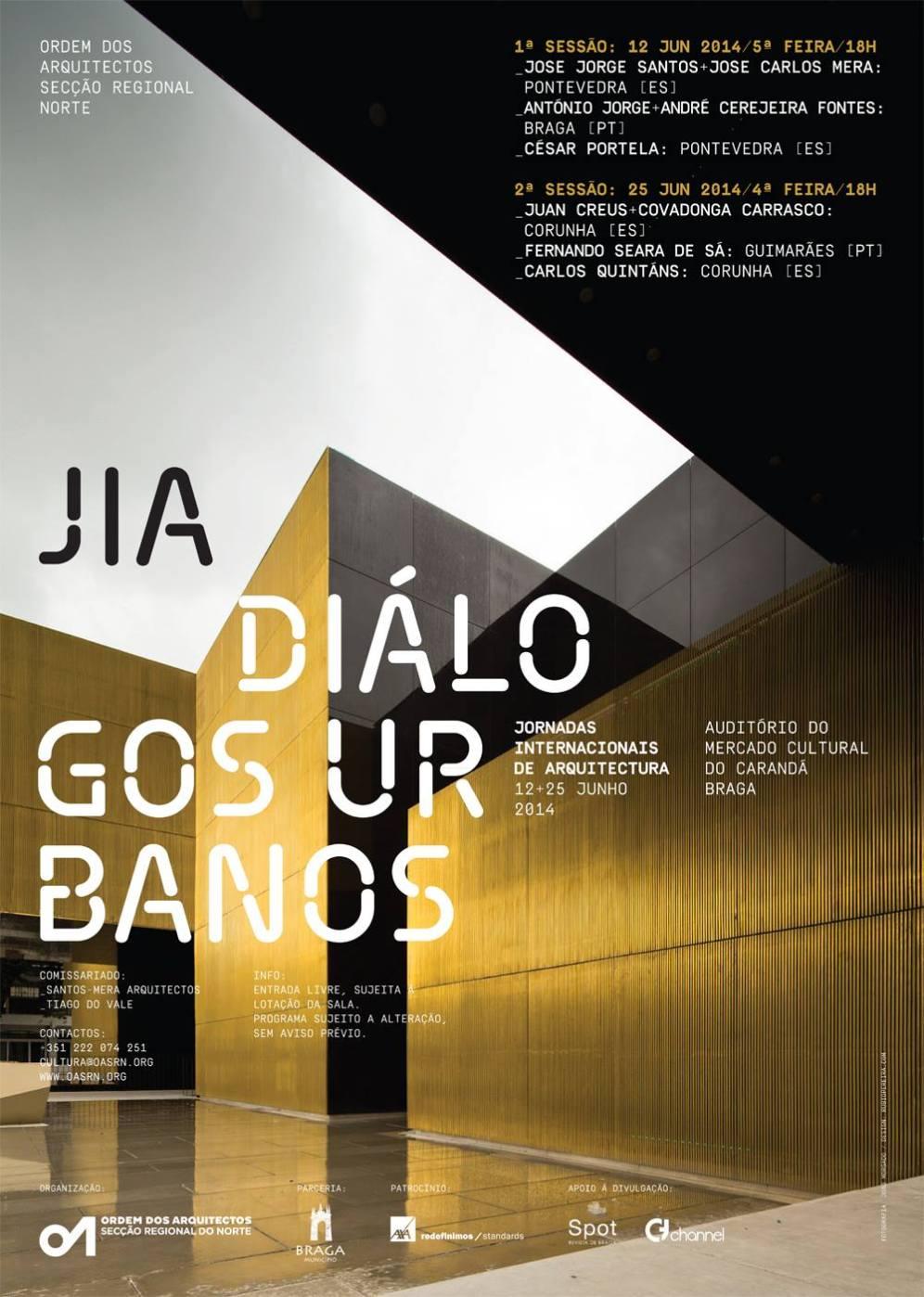 Jornadas Internacionais de Arquitectura - Cartaz