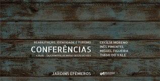 Jardins Efémeros: Conferências