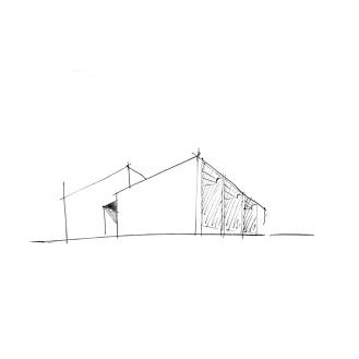 Casa de Gafarim, Esquisso
