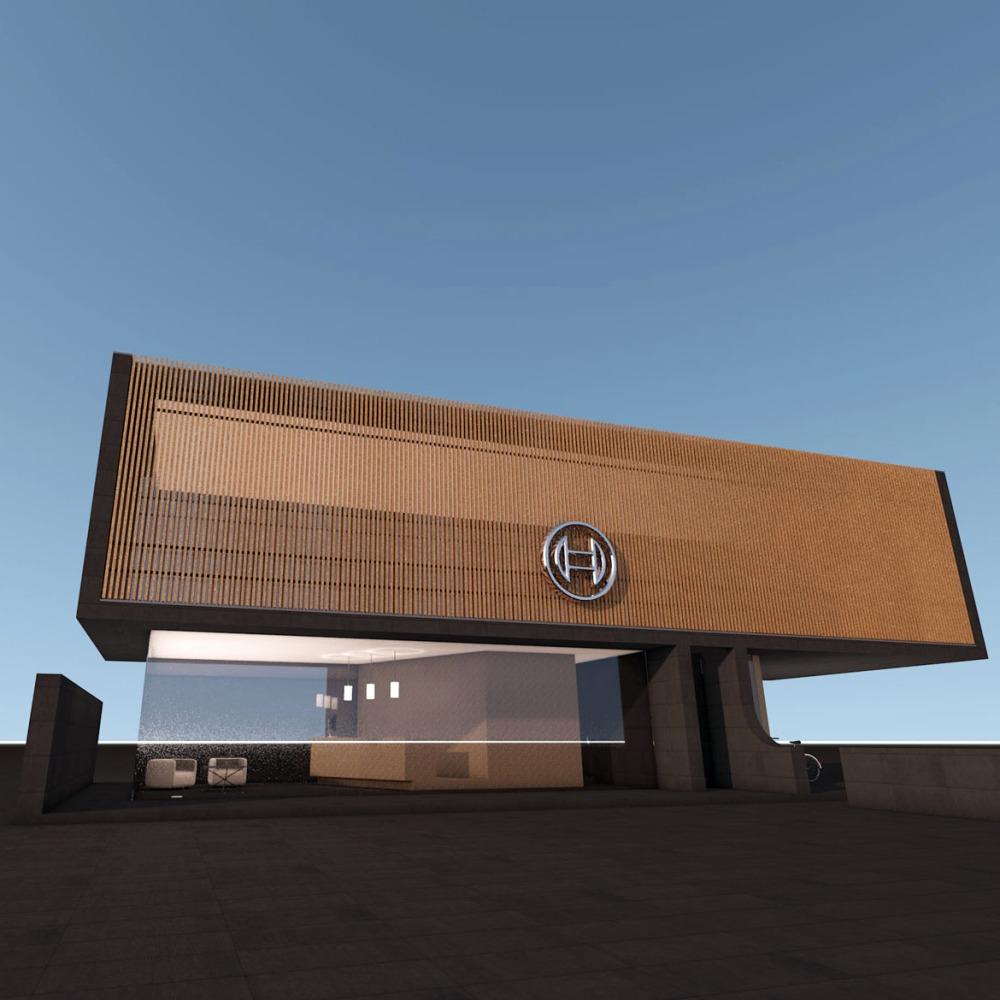 RV118 Bosch Gatehouse Destaque
