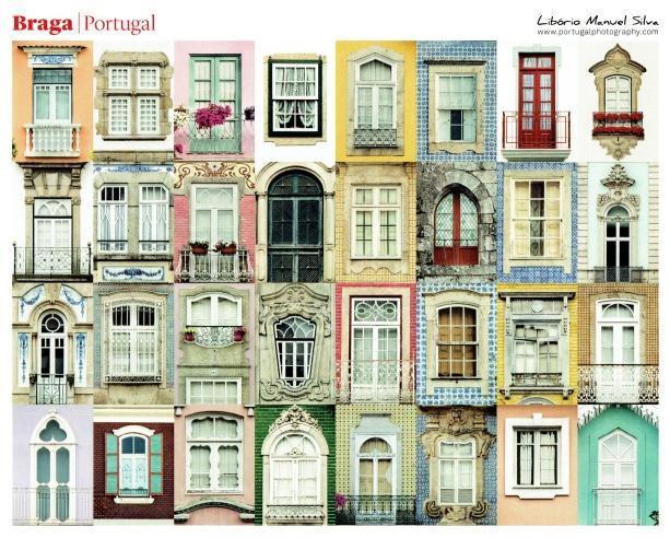 I Love Braga, Postal