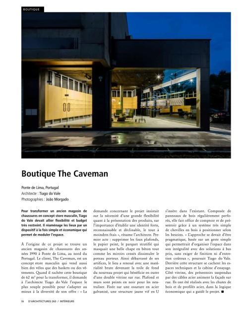 d'Architectures 263, 86