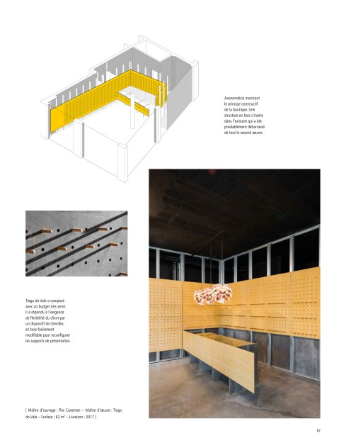d'Architectures 263, 87