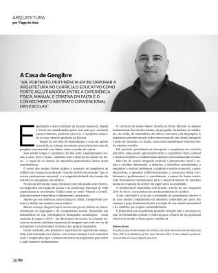 Revista RUA: A Casa deGengibre