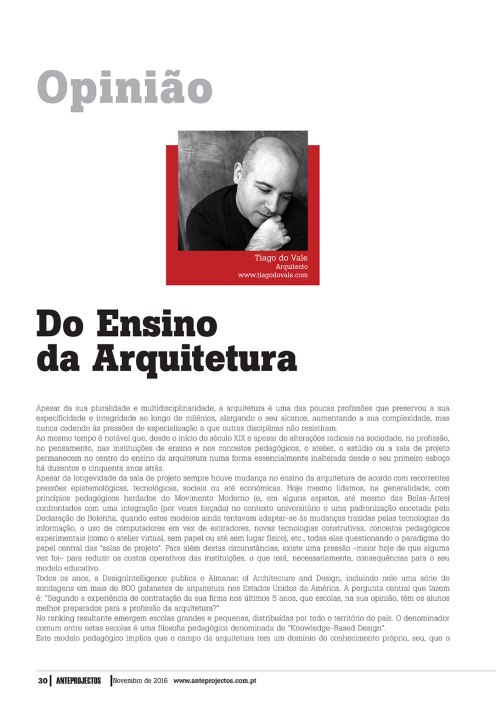 Revista Anteprojectos 269, 30