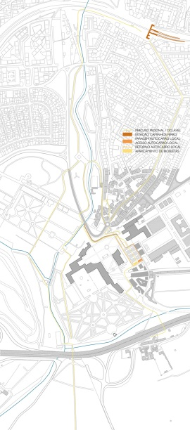 Transportes Públicos, Rede Pedonal e Rede Ciclável