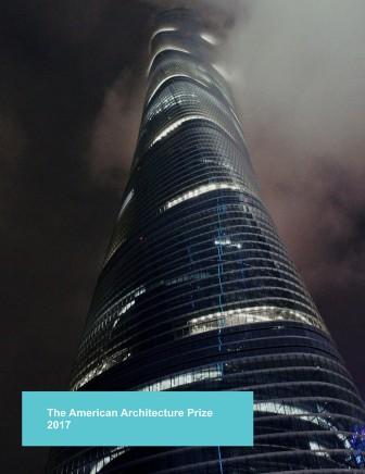The American Architecture Prize 2017 Book, Capa
