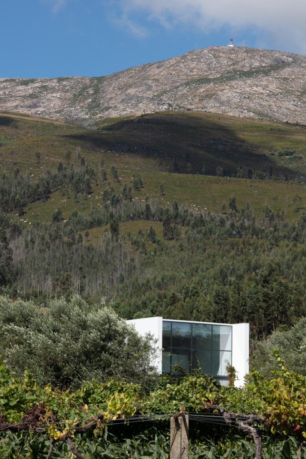 Casa de Gafarim, Alçado Nordeste