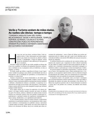 Revista RUA: Verão eTurismo