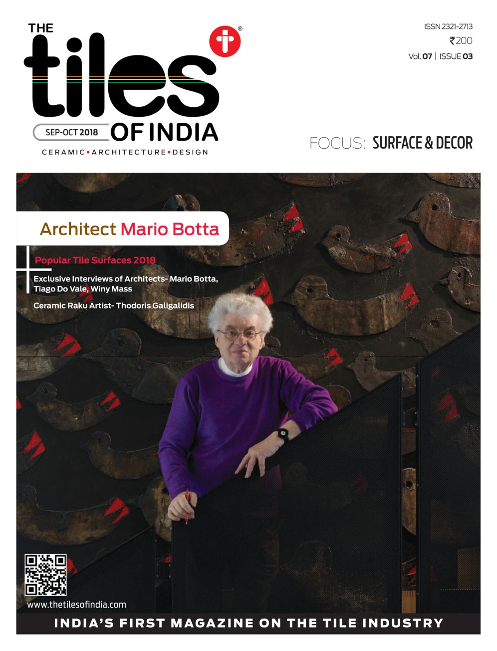The Tiles of India 2018 3, Capa