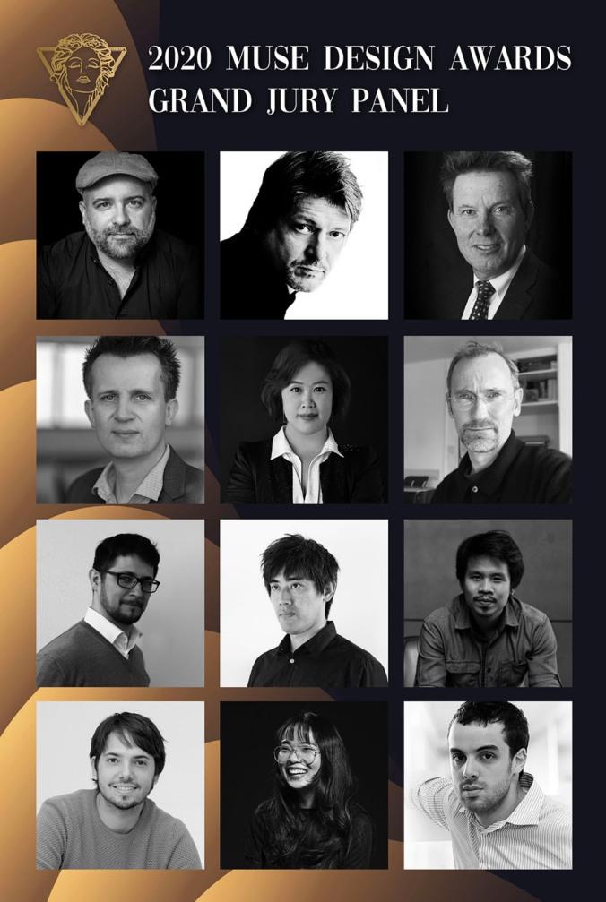 Muse Design Awards 2020, Júri